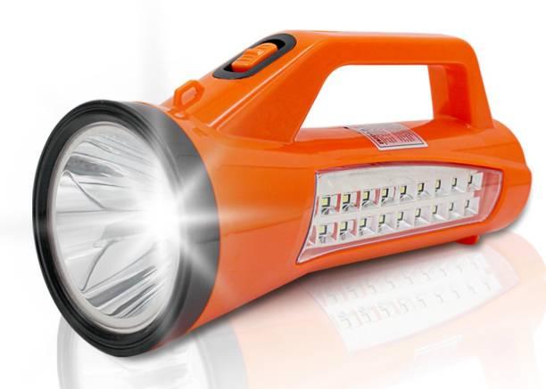 Make Ur Wish 15W Laser Search Light with 20 SMD Side Light Torch Emergency Light
