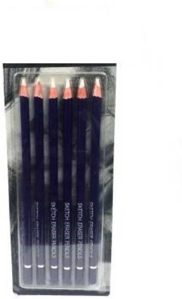 efforwave PENCIL ERASER FOR ARTISTS SET OF 6 Non-Toxic Eraser