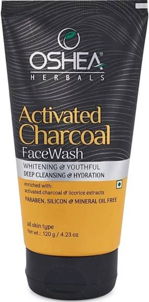 Oshea Herbals Activated Charcoal  (120 g) Face Wash