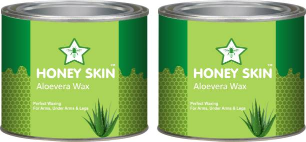 HONEY SKIN Aloevera Waxing for Women Men Coarse Hair Removal 600g 600g Wax