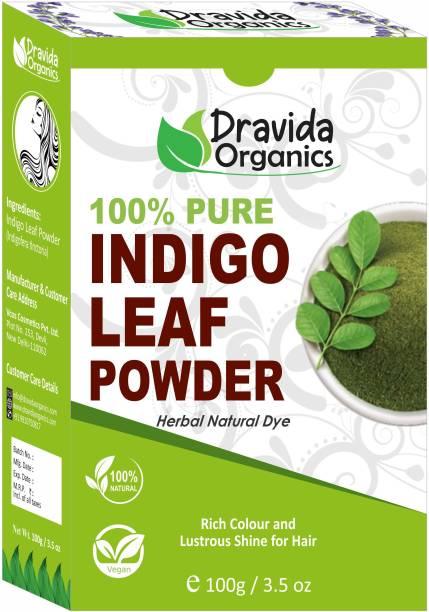 Dravida Organics 100 % Pure Indigo Powder for Hair