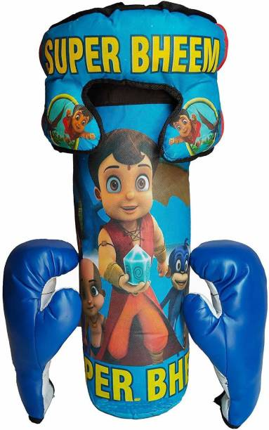 mayank & company Boxing Set super Bheem With Punching Bag, Gloves & Headgear Boxing kit for kids 3 to 9 Years Boxing kit Boxing Kit