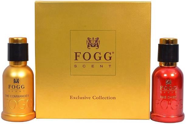 FOGG Combo Pack Exclusive Collection-The Chief(50ml) + The Commander(50ml) Eau de Parfum  -  100 ml