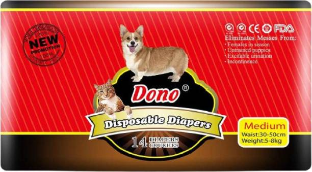 Dono Disposable Puppy Diaper for Female Dog Disposable Dog Diapers