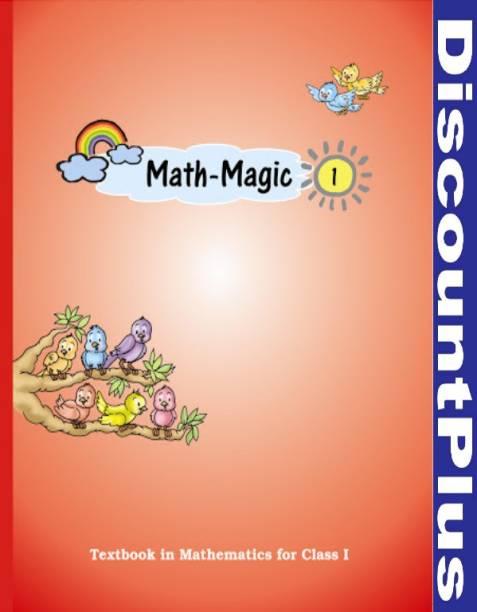 NCERT Class 1: English: Math Magic HardCover PaperBook