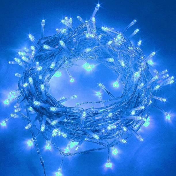Home Delight 472 inch Blue Rice Lights