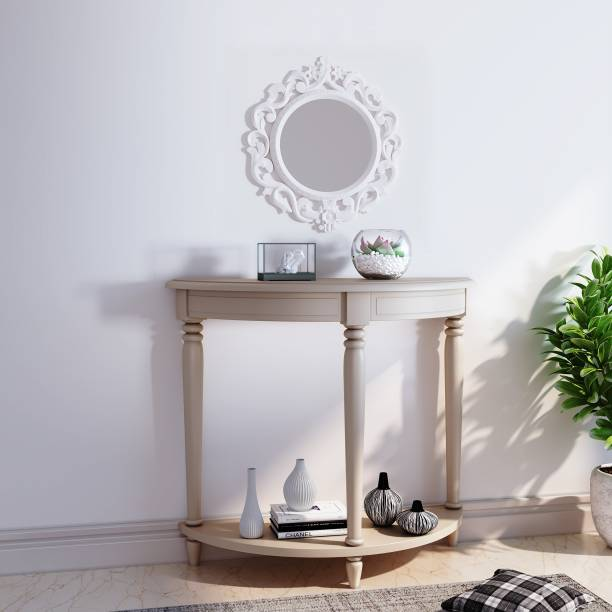 House of Pataudi Solid Wood Side Table