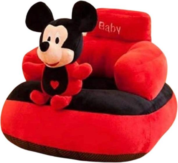 Macros Mickey Shape Sofa & Plush Sofa For Kids (teddy bear)  - 45 cm