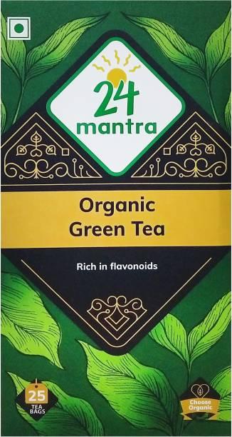 24 Mantra Green Tea Bags Box