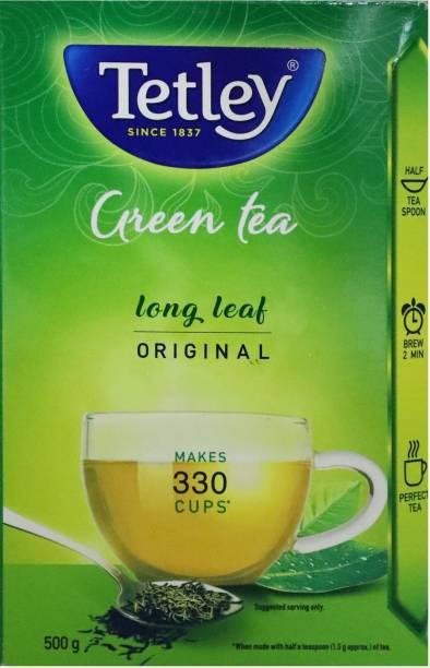 tetley Green Tea Box