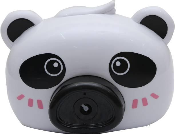 Smartcraft Black and White Panda Bubble Camera, Bubble Machine Toy for Kids, Bubble Maker Machine Camera Shape with Music and Light, Automatic Bubble Blower for Kids- Multicolor Toy Bubble Maker