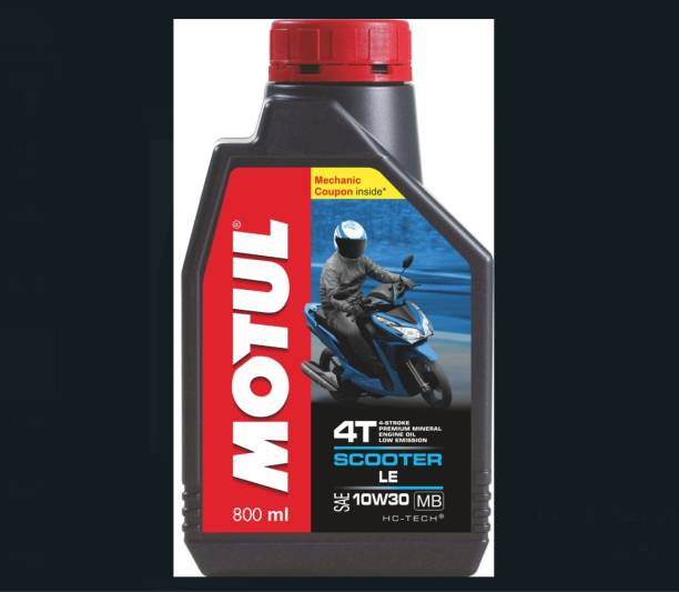MOTUL Scooter LE 4T 10W30 Mineral Engine Oil