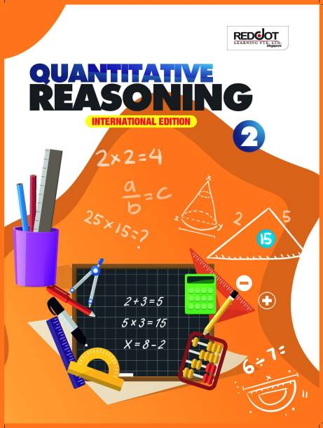 Quantitative Reasoning For Kids Class 1st, Activity Book and aptitude, Clearly Stated objective, Graded worked out examples, graded exercise