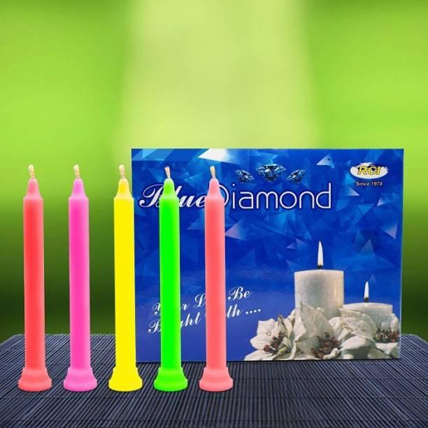 AuraDecor � Blue Diamond 3*15 candles Candle