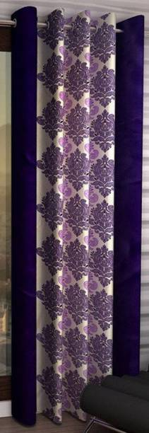Brand Roots 152 cm (5 ft) Polyester Window Curtain Single Curtain