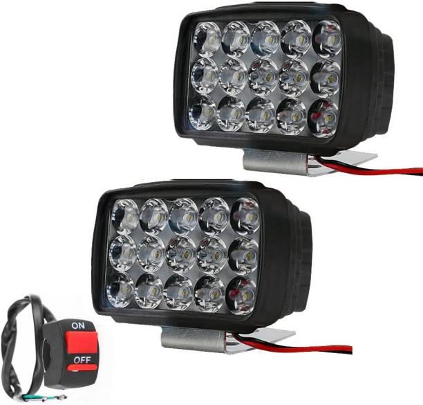 Vagary LED Fog Lamp Unit for Mahindra, Hyundai, Toyota, Hero, Bajaj, Maruti Suzuki Universal For Car