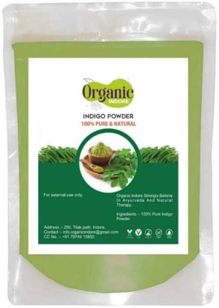 OrganicIndore Indigo leaf powder for hair 100 gm