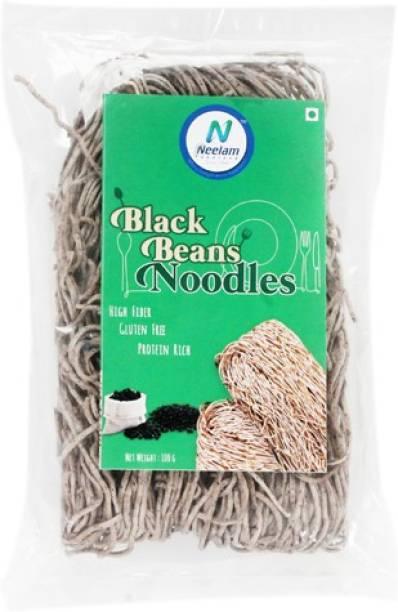 Neelam Foodland Black Beans Noodles, 100G Instant Noodles Vegetarian