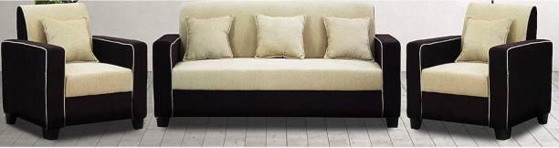 Munafa Villaze Straight Line Fabric 1 Seater  Sofa