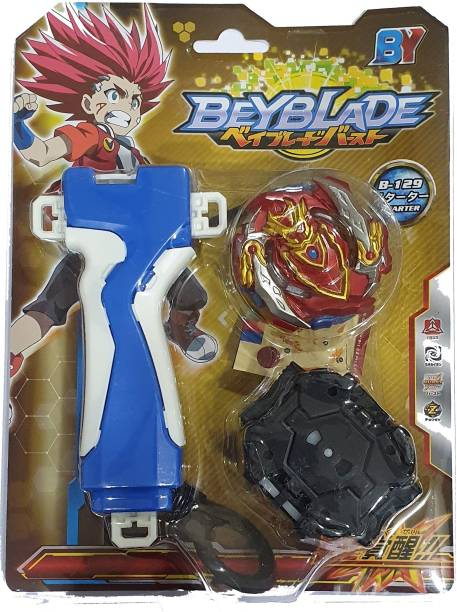 AS Beyblade Series Cho Z Achilles B-129 Starter Spinning and Battling Top