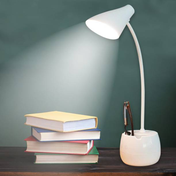 Pick Ur Needs Desk Lamp For Study with 3 Shades Touch Control Light and Mobile Holder Design With Night light Study Lamp Table Lamp