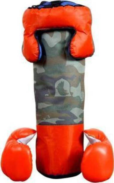 Aao je Supper Toy Boxing Kit With 2 Gloves and 1 Head guard For Kids 3 To 10 Years No.1 Boxing Training Kit(multi-designs) Boxing Kit