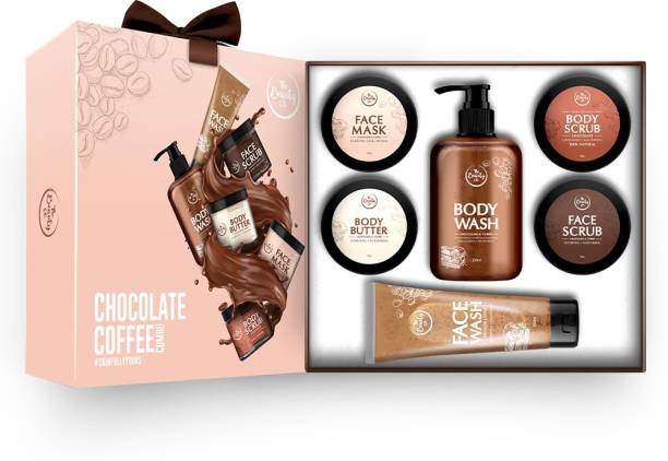 The Beauty Co. Chocolate Coffee Combo for Skin Revitalizing