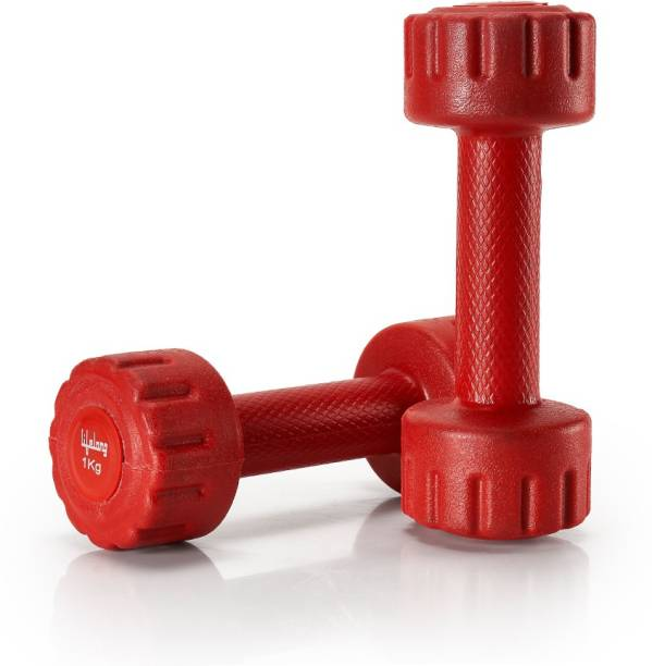 Lifelong PVC Dumbbells Fixed Weight Dumbbell