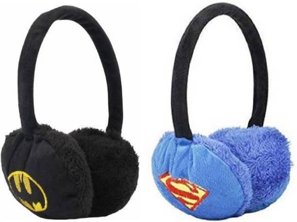 Kolva Kids Winter Warm Cartoon Hero Wear Ear Muff For Boys And Girls Ear Muff