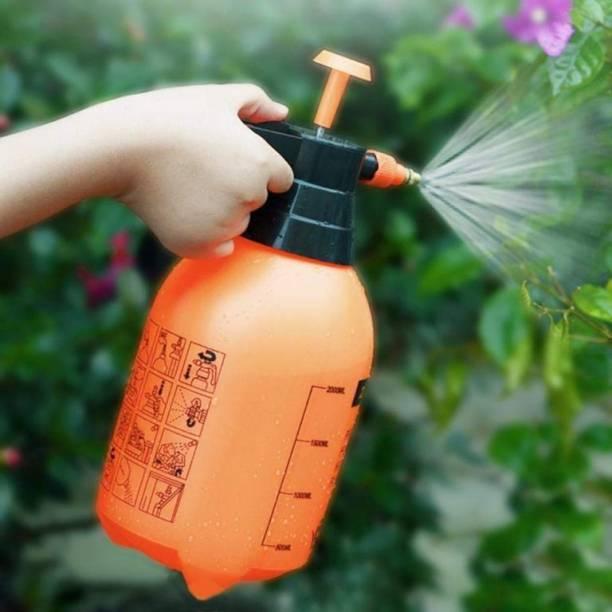 kk impex Garden Agriculture Spray Pump Atomizer Compression Pressure Sprayer + Adjustable Brass Nozzle for Mist & Spray + High Quality Pet Plastic Water Bottle 1500 ML Hand Held Sprayer 105 L Hand Held Sprayer