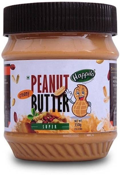 Happilo Super Creamy Peanut Butter 350 g