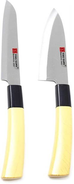 Ying Guns Knife Set (Pack of 2) for Cutting Fruits, Vegetable, Meat, Fish & More Steel Knife