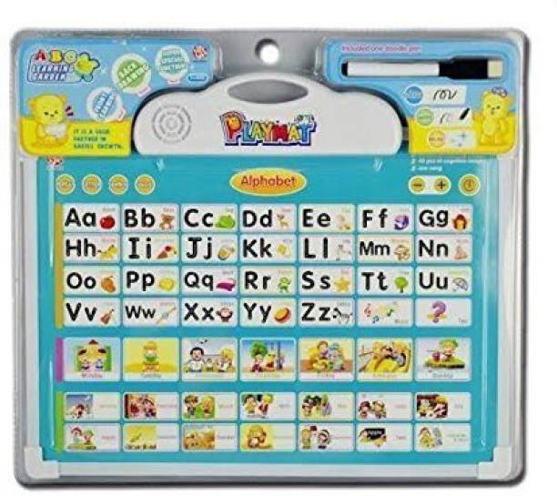 Smartcraft Musical Board for Alphabet Learning Toy Play Mat & Drawing with One Doodle Pen -(Multi Color)