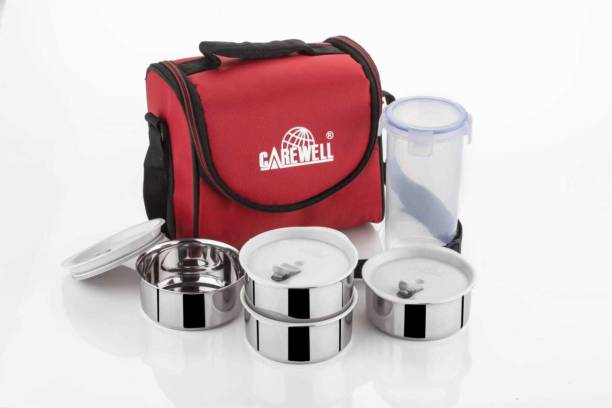 Carewell Champ Leakproof 4 Container Lunchbox 5 Containers Lunch Box