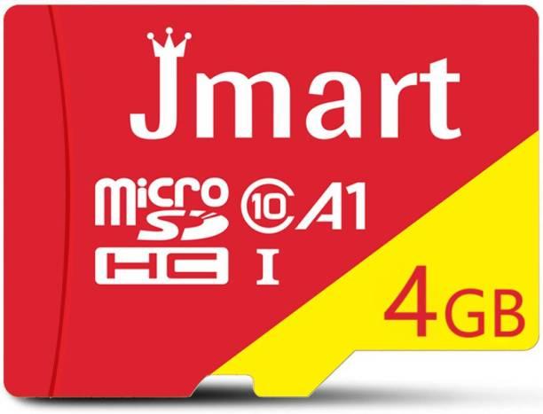 Jmart Ultra Premium 4 GB MicroSD Card Class 10 100 MB/s  Memory Card