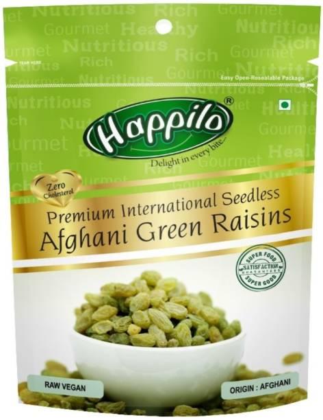 Happilo Premium Premium International Seedless Afghani green Raisins