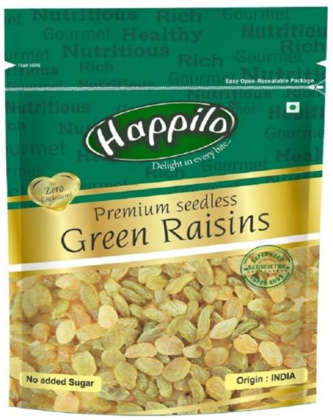 Happilo Premium Seedless Green Raisins