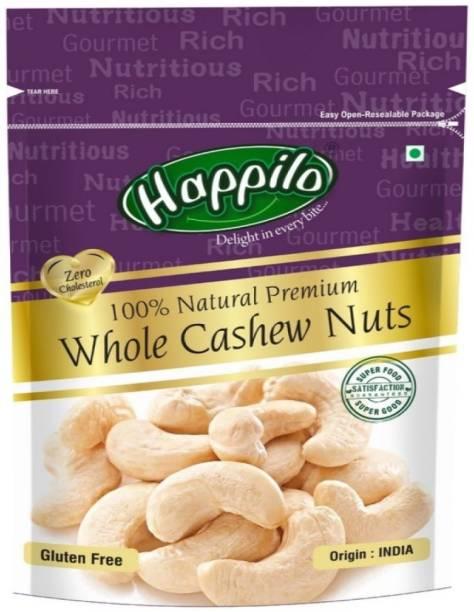 Happilo 100% Natural Whole Premium Cashews
