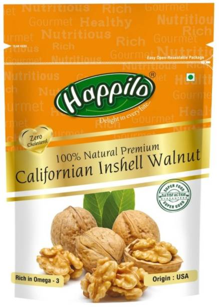 Happilo 100% Natural Premium Californian Inshell Walnuts