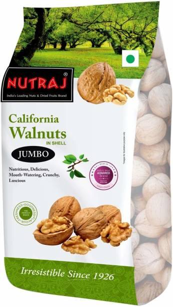 Nutraj California Walnuts Inshell (Pack of 1) Walnuts