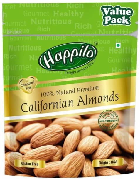 Happilo 100% Natural California Almonds