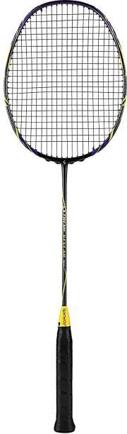 Spinway Professional Badminton Racket, Extreme Kevlar M1 Racquet Black Unstrung Badminton Racquet