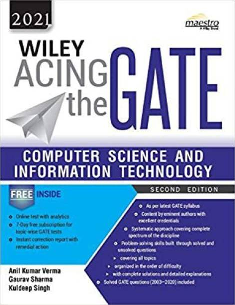 Wiley Acing The GATE: Computer Science And Information Technology, 2ed, 2021