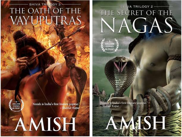 The Oath Of The Vayuputras (Shiva Trilogy) + The Secret Of The Nagas (Shiva Trilogy-2) (Set Of 2 Books) Paperback – 1 January 2015