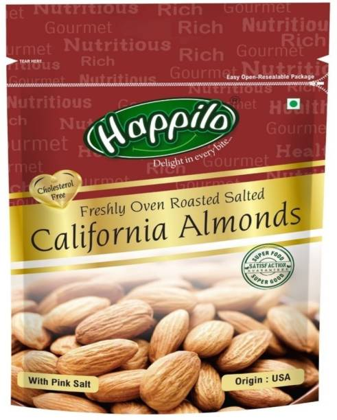 Happilo Oven Roasted and Salted California Almonds