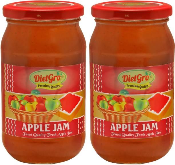 DietGro Apple jam 500 gm 1 kg
