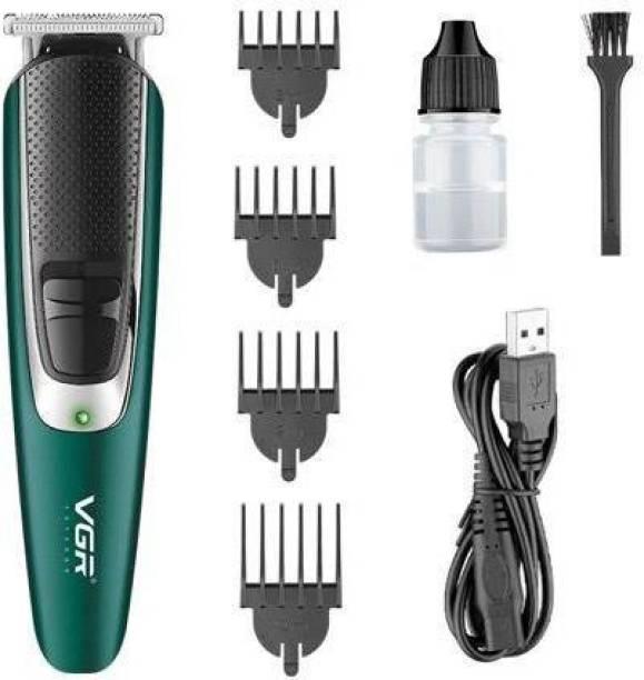 VGR V-176 Professional Hair trimmer USB Rechargeable Hair Clipper Haircut Machine Self-haircut Clipper  Runtime: 120 min Trimmer for Men & Women
