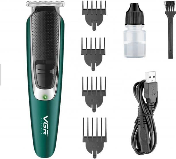 VGR V-176 Professional Rechargeble hair Trimmer  Runtime: 150 min Trimmer for Men
