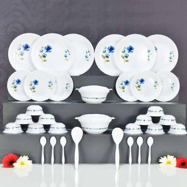 leadder kitchenware Pack of 36 Plastic plastic dinner set Dinner Set