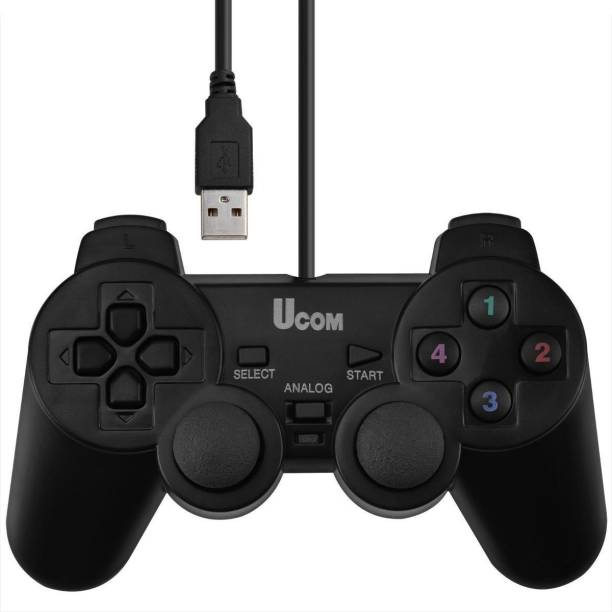 RFV1 USB Game Pad for PC (Vibration Joy Pad) - USB Game Remote / Controller for Computer with Vibration and Analog Key. USB  Gamepad